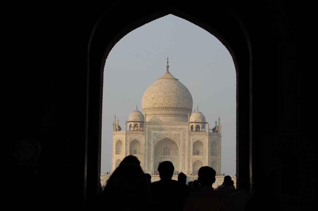 Picture of the Taj Mahal India