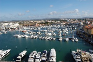 picture of the Algarve marina