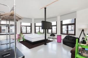 Fusion hotel bedroom