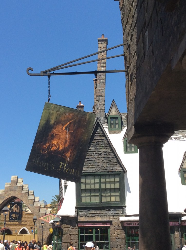 Hog's Head pub at Harry Potter World
