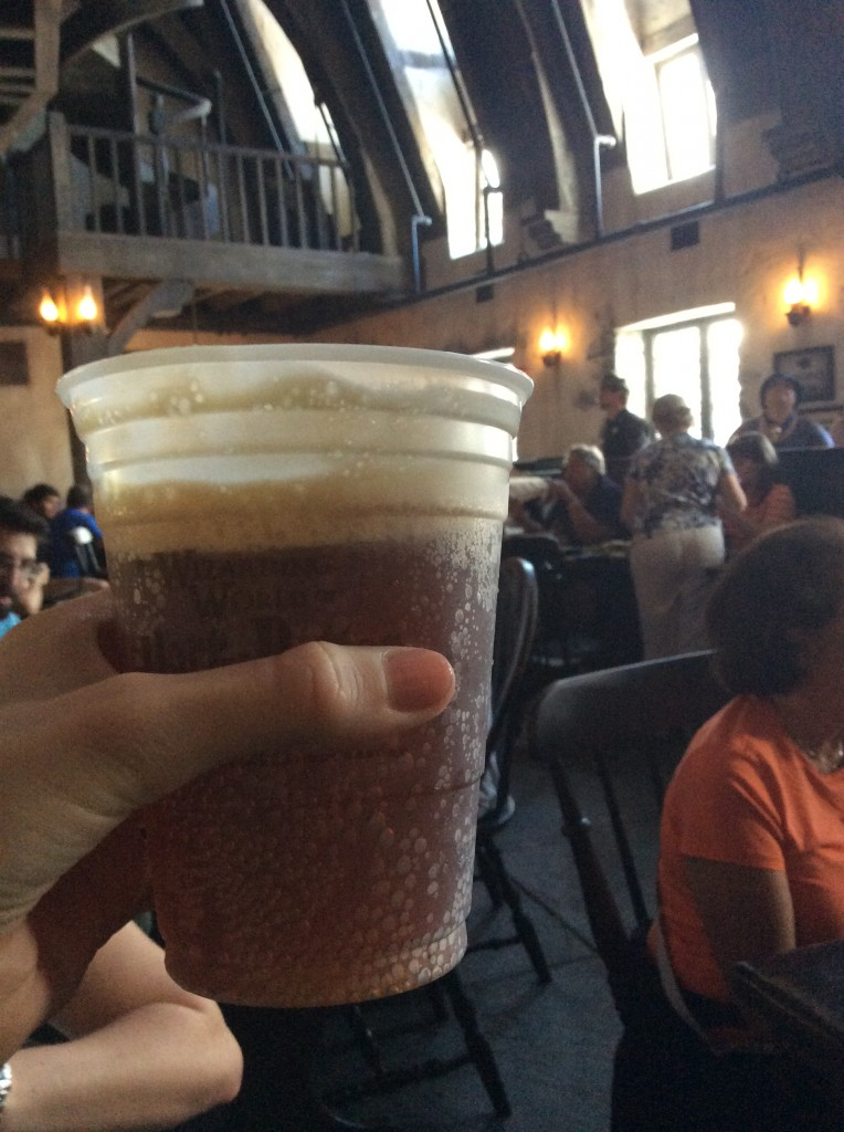 Butterbeer drink from Harry Potter